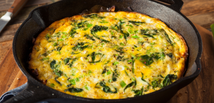 Kahvaltı Keyfiniz Semizotlu Omlet